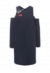 Купить Платье Tutto Bene синий TU009EWRXQ33 Россия