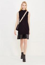 Купить Платье Twin-Set Simona Barbieri черный TW005EWUMG50