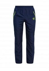 Купить Брюки спортивные CUSTOM WOVEN PANTS Umbro синий UM463EMQZD61