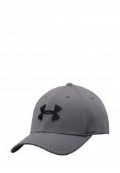 Купить Бейсболка Under Armour UA Blitzing II Stretch Fit Cap серый UN001CMTVR30 Китай