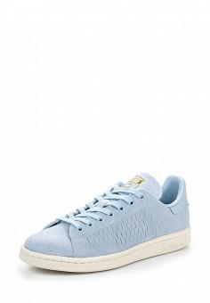 Кеды, adidas Originals, цвет: голубой. Артикул: AD093AWQIT22. Женская обувь / Кроссовки и кеды