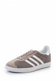 Кеды, adidas Originals, цвет: бежевый. Артикул: AD093AWQIT24. Женская обувь / Кроссовки и кеды