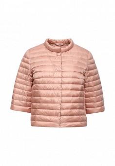 Пуховик, Add, цвет: розовый. Артикул: AD504EWQIP28. Премиум / Одежда / Верхняя одежда / Пуховики и зимние куртки