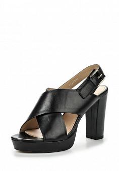 Босоножки, Alesya, цвет: черный. Артикул: AL048AWQEJ47. Женская обувь / Босоножки
