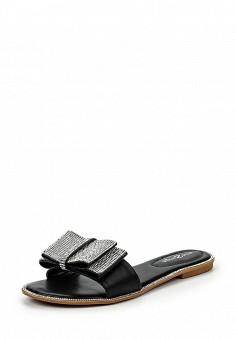 Шлепанцы, Amazonga, цвет: черный. Артикул: AM338AWQLB87. Женская обувь / Шлепанцы и акваобувь
