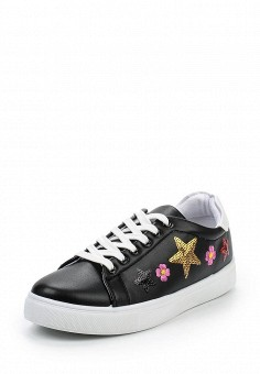 Кеды, Angelo Milano, цвет: черный. Артикул: AN053AWQQA11. Женская обувь