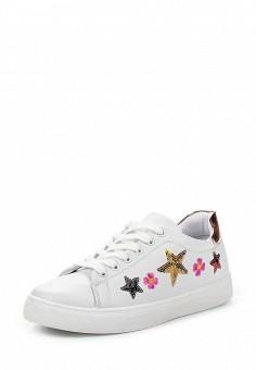 Кеды, Angelo Milano, цвет: белый. Артикул: AN053AWQQA16. Женская обувь