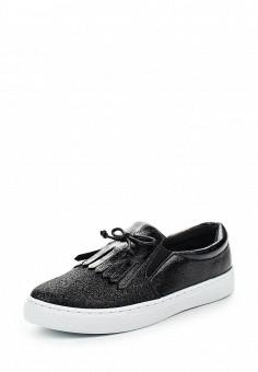 Слипоны, Angelo Milano, цвет: черный. Артикул: AN053AWRZY26. Женская обувь