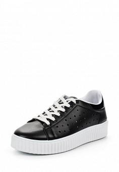 Кеды, Angelo Milano, цвет: черный. Артикул: AN053AWRZY30. Женская обувь