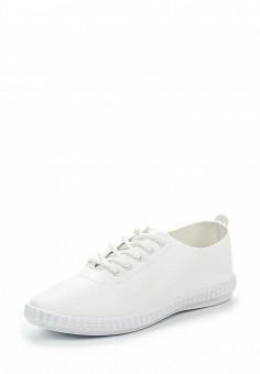 Кеды, Angelo Milano, цвет: белый. Артикул: AN053AWRZY35. Женская обувь