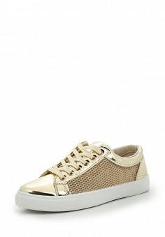Кеды, Angelo Milano, цвет: золотой. Артикул: AN053AWSXW00. Женская обувь