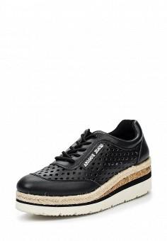 Ботинки, Armani Jeans, цвет: черный. Артикул: AR411AWPWC44. Премиум / Обувь