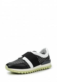 Кроссовки, Armani Jeans, цвет: черно-белый. Артикул: AR411AWPWC66. Премиум / Обувь