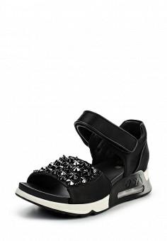 Сандалии, Ash, цвет: черный. Артикул: AS069AWQQY72. Женская обувь