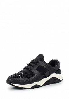 Кроссовки, Ash, цвет: черный. Артикул: AS069AWQUP47. Женская обувь