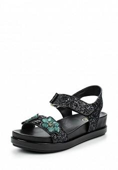 Сандалии, Ash, цвет: черный. Артикул: AS069AWQUP53. Женская обувь