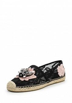 Эспадрильи, Ash, цвет: черный. Артикул: AS069AWQUP57. Женская обувь