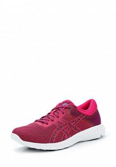 Кроссовки, ASICS, цвет: розовый. Артикул: AS455AWUMF79. Женская обувь / Кроссовки и кеды