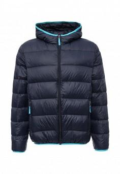 Пуховик, Baon, цвет: синий. Артикул: BA007EMLNS82. Мужская одежда / Верхняя одежда / Пуховики и зимние куртки
