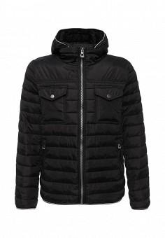 Куртка утепленная, Baon, цвет: черный. Артикул: BA007EMLNS97. Мужская одежда / Верхняя одежда / Пуховики и зимние куртки
