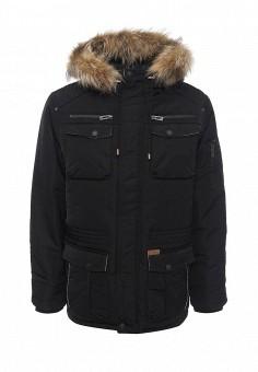 Пуховик, Baon, цвет: черный. Артикул: BA007EMNLO31. Мужская одежда / Верхняя одежда / Пуховики и зимние куртки