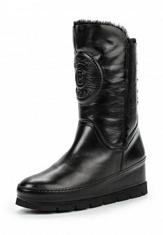 Сапоги, Baldinini, цвет: черный. Артикул: BA097AWJDV13. Женская обувь / Сапоги