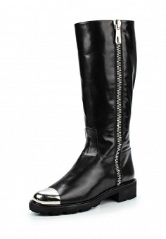 Сапоги, Baldinini, цвет: черный. Артикул: BA097AWJDV16. Женская обувь / Сапоги