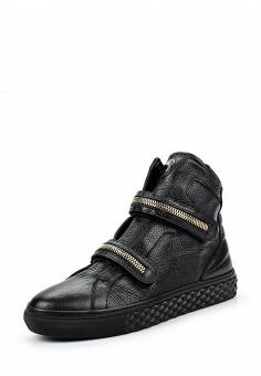 Кеды, Baldinini, цвет: черный. Артикул: BA097AWJDV75. Женщинам / Обувь / Кроссовки и кеды
