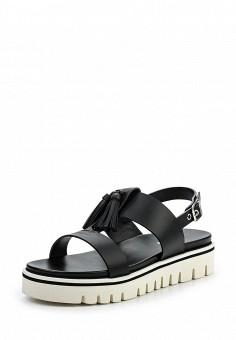 Сандалии, Baldinini, цвет: черный. Артикул: BA097AWPUX76. Женская обувь