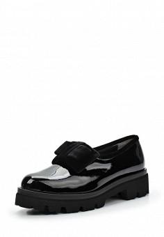 Лоферы, Baldinini, цвет: черный. Артикул: BA097AWTBZ25. Женская обувь