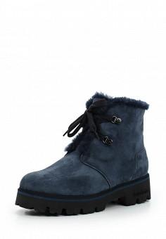 Ботинки, Baldinini, цвет: синий. Артикул: BA097AWTCB49. Женская обувь