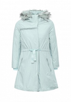 Пуховик, Befree, цвет: мятный. Артикул: BE031EWLBB50. Женская одежда / Верхняя одежда / Парки