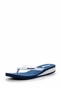 Сланцы, Beppi, цвет: белый. Артикул: BE099AWFN237. Женская обувь / Шлепанцы и акваобувь