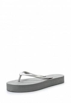 Сланцы, Beppi, цвет: серый. Артикул: BE099AWQAA36. Женская обувь / Шлепанцы и акваобувь