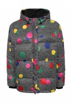 Куртка утепленная, Boutique Moschino, цвет: мультиколор. Артикул: BO036EWJKV68. Женская одежда / Верхняя одежда / Пуховики и зимние куртки