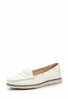 Топсайдеры, Bobo, цвет: белый. Артикул: BO045AWPYO28. Женская обувь / Мокасины и топсайдеры