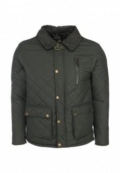 Куртка утепленная, Brave Soul, цвет: зеленый. Артикул: BR019EMFZL03. Мужская одежда / Верхняя одежда