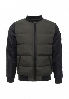 Куртка утепленная, Brave Soul, цвет: хаки. Артикул: BR019EMJRH62. Мужская одежда / Верхняя одежда