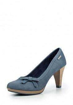 Туфли, Bugatti, цвет: синий. Артикул: BU182AWOKP47.