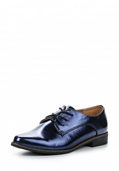 Ботинки, Catisa, цвет: синий. Артикул: CA072AWRMR37. Женская обувь / Ботинки / Низкие ботинки