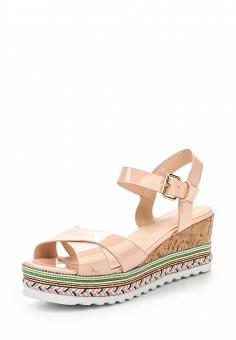 Босоножки, Catisa, цвет: розовый. Артикул: CA072AWTFO28. Женская обувь / Босоножки