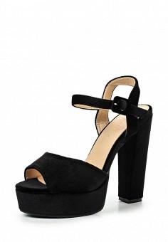 Босоножки, Catisa, цвет: черный. Артикул: CA072AWTFP20. Женская обувь / Босоножки