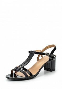Босоножки, Catisa, цвет: черный. Артикул: CA072AWTFP24. Женская обувь / Босоножки