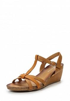 Босоножки, Catisa, цвет: коричневый. Артикул: CA072AWTFP26. Женская обувь / Босоножки