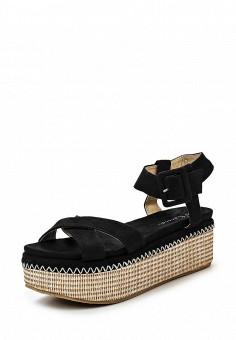 Босоножки, Catisa, цвет: черный. Артикул: CA072AWTFQ03. Женская обувь / Босоножки