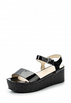 Босоножки, Catisa, цвет: черный. Артикул: CA072AWTFQ36. Женская обувь / Босоножки