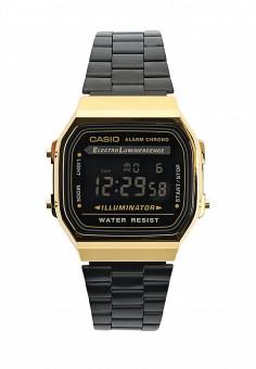 Часы, Casio, цвет: черный. Артикул: CA077DUTSR57. Женские аксессуары / Часы