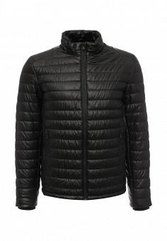 Куртка утепленная, Celio, цвет: черный. Артикул: CE007EMLBM04. Мужская одежда / Верхняя одежда