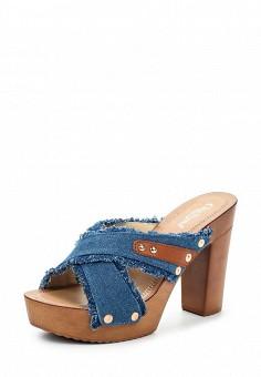 Сабо Chic Nana выполнены из джинсового текстиля, подкладка и стелька