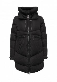 Куртка утепленная, Clasna, цвет: черный. Артикул: CL016EWNLX90. Женская одежда / Верхняя одежда / Пуховики и зимние куртки